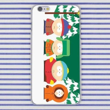Coque South Park pour iPhone X/8/8 Plus/7/7 Plus/6s/6s Plus/6/6 Plus/5/5s/SE/5c/4/4s - Pomme Addict