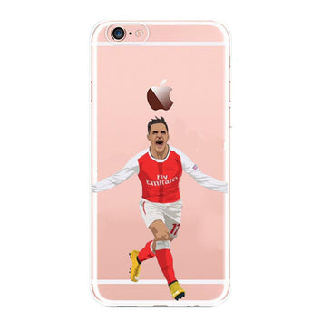 "Coque Foot ⚽ "" Alexis Sanchez  "" iPhone Xs / Xs Max / Xr / X / 8 Plus / 8 / 7 Plus / 7 / 6 Plus / 6 / SE / 5s - PommeAddict.fr"