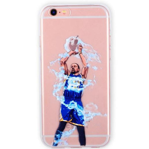 Coque Kevin Durant Golden State Warriors GSW Basket Ball NBA iPhone X/iPhone 8/iPhone 8 Plus/iPhone 7/iPhone 7 Plus/iPhone 6s/iPhone 6s Plus/iPhone 6/iPhone 6 Plus/iPhone 5s/iPhone SE.