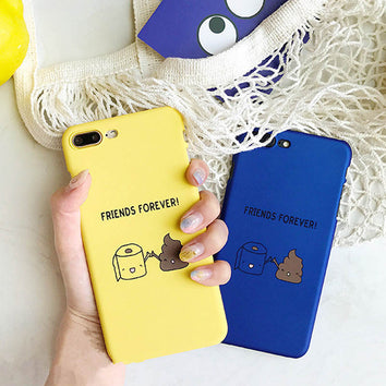 "Coque fun ""Friends forever"" ? pour iPhone 8/8 Plus/7/7 Plus/6s/6s Plus/6/6 Plus - Pomme Addict"