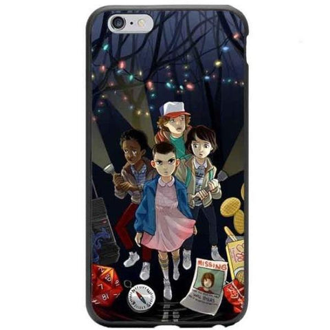 Coque Stranger Things pour iPhone X/8/8 Plus/7/7 Plus/6s/6s Plus/6/6 Plus/5/5s/SE - Pomme Addict