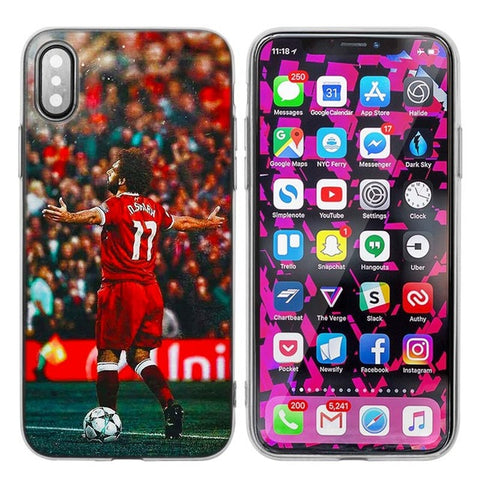 "Coque Foot ⚽ "" Mohamed Salah #3 "" iPhone Xs / Xs Max / Xr / X / 8 Plus / 8 / 7 Plus / 7 / 6 Plus / 6 / SE / 5s - PommeAddict.fr"