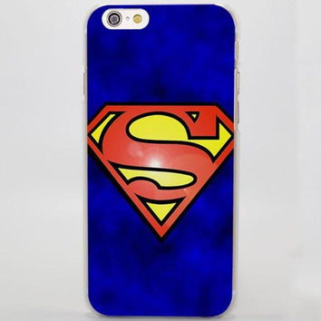 Coque Superman #2 pour iPhone 8/8 Plus/7/7 Plus/6s/6s Plus/6/6 Plus/5/5s/SE/5C/4/4s - Pomme Addict