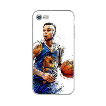 Coque Stephen Curry artistique ? iPhone X/8/8 Plus/7/7 Plus/6s/6s Plus/6/6 Plus/5/5s/SE - Pomme Addict