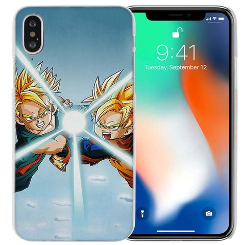 Coque Trunks & Son Gohan iPhone X/8/8 Plus/7/7 Plus/6s/6s Plus/6/6 Plus/5/5s/SE/5C/4/4s - Pomme Addict