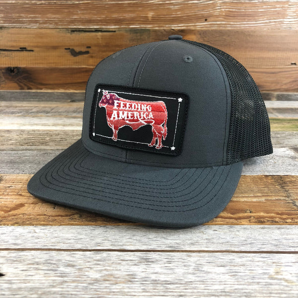 Feeding America Patch Hat- Charcoal