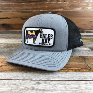 Bales Hay Cow Patch Hat