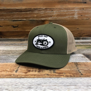 Farm and Ranch Tractor Patch Trucker Hat
