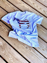 Load image into Gallery viewer, Patriotic Horse T-Shirt