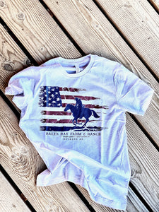 Rider in the Flag T-Shirt