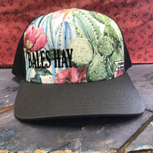 Load image into Gallery viewer, Cactus Ladies Bales Hay Hat Charcoal/Black Mesh