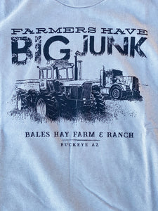Farmers Have Big Junk Long Sleeve - Heather Red