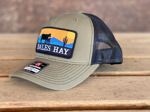 Bales Hay Sunset Patch Cow/Calf Trucker Hat