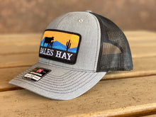 Load image into Gallery viewer, Bales Hay Sunset Patch Cow/Calf Trucker Hat