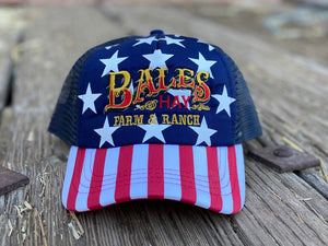 Bales Original Logo MAGA Foam 5 Panel Trucker Hat