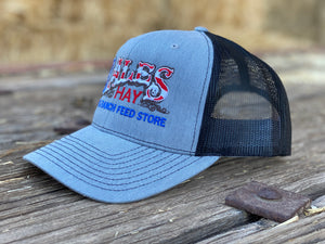 Original Bales Logo Hat in Red, White and Blue