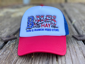 Original Bales Logo Foam Hat Two Color Options