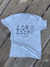 Load image into Gallery viewer, H & B Love Local T-Shirt Grey