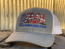 Load image into Gallery viewer, Original Bales Logo Hat in Red, White and Blue