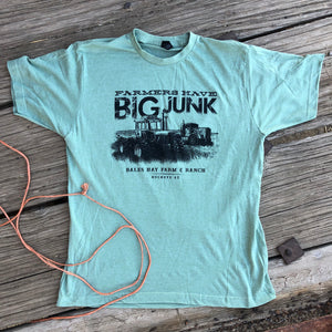 Farmers Have Big Junk Tee - Seafoam