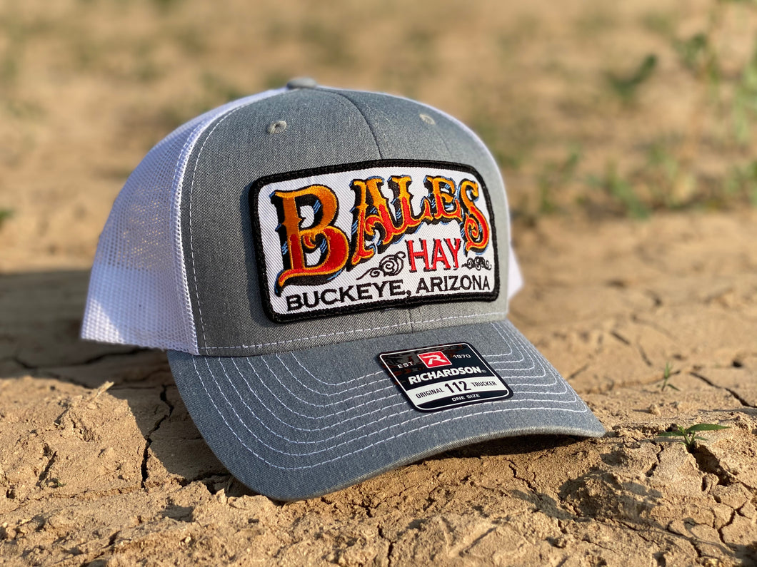 Original Bales Hay Patch Hat
