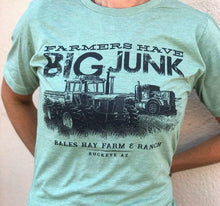 Load image into Gallery viewer, Farmers Have Big Junk Tee - Seafoam