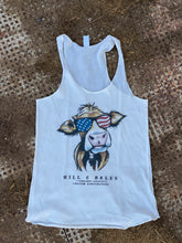 Load image into Gallery viewer, Women's American Cow Tank