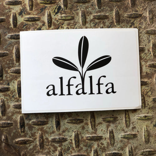 The Alfalfa Sticker