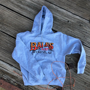 Men's Bales Hay Hoodie- Heather Grey