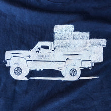 Load image into Gallery viewer, UNISEX Hauler Long Sleeve Tee - Navy Blue