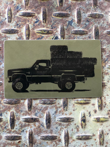 Square Body Hauler Sticker