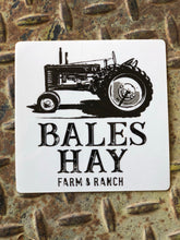 Load image into Gallery viewer, Bales Hay Tractor Sticker