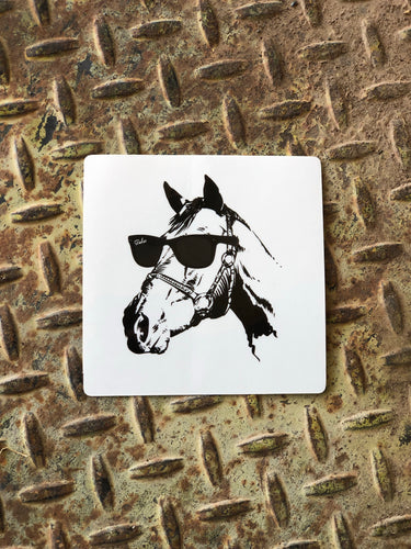 Cool Horse Sticker