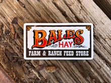 Load image into Gallery viewer, Bales Hay Western Sticker