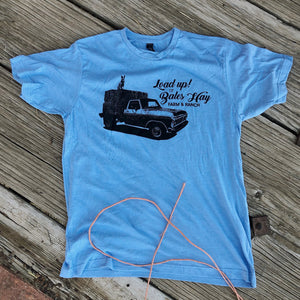 The LOAD UP Tee - Cool Blue