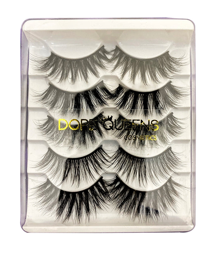 Empress- 5 Pair 3D Mink Lashes