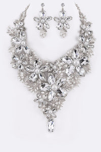 Radiant Crystal Necklace Set - Superior Boutique