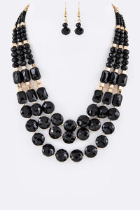 Beautiful Crystal Necklace Set