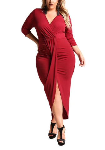 Curvy Flawless Maxi Dress
