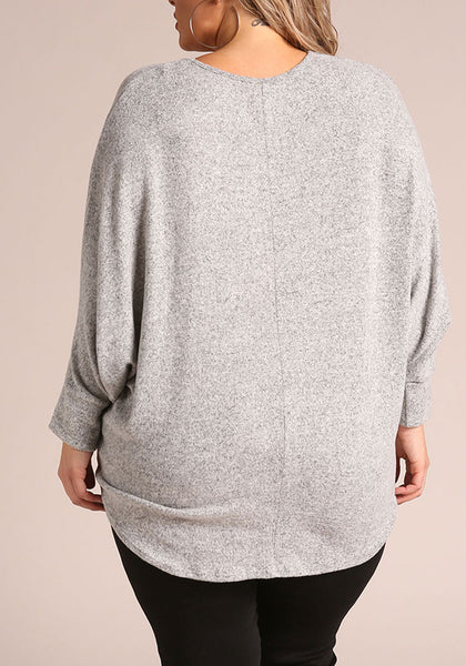 Curvy Soft Fleece Must-Have Top - Superior Boutique
