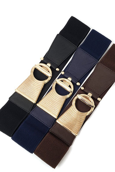 I'm Ready Elastic Belt - Brown