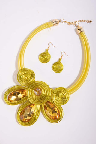 Spirals Necklace Set