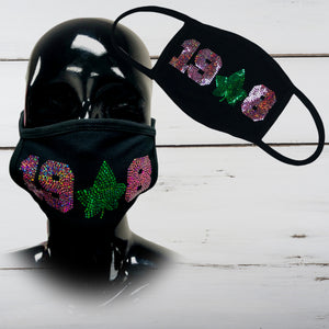 1908 Sisterhood (IVY) Bling Face Mask - Superior Boutique