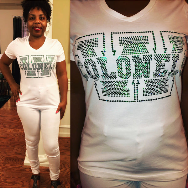 Woodlawn Colonels Bling Shirt - Superior Boutique