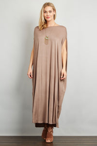 Oversize Boxy Long Dress