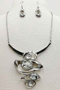 Stacked Necklace Set - SILVER