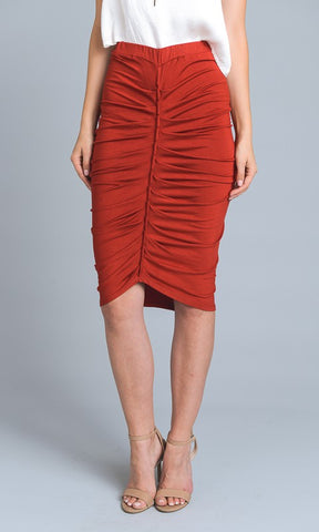 Jersey Knit Pencil Skirt - Superior Boutique