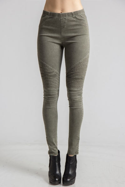 Biker Chic Moto Leggings (Runs Small) - Superior Boutique