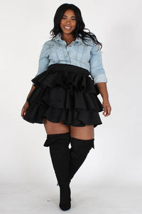 Chic Layered Skirt - Superior Boutique
