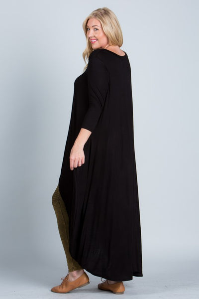 Hi-Lo Maxi Top - Superior Boutique